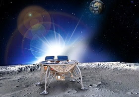 Morgen zum Mond