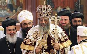 Anschlag im Papstsitz inAlexandrien