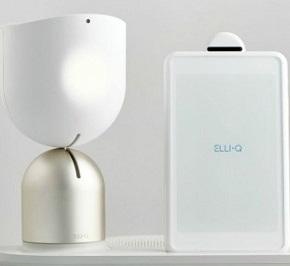 Intuitiver Roboter ElliQ leistet älteren MenschenGesellschaft